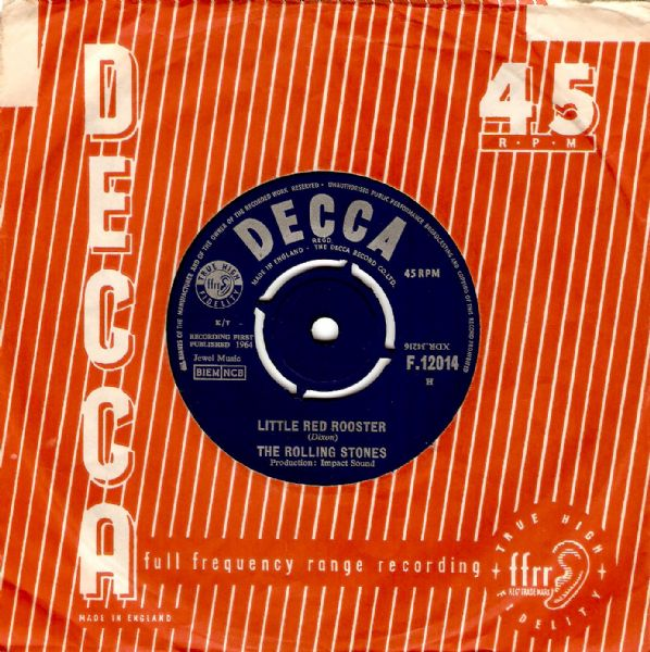 The Rolling Stones Little Red Rooster Vinyl 7 Inch | Planet Earth Records